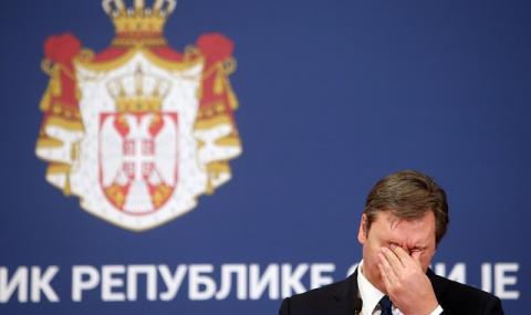 Вучич към сърбите: Топим се