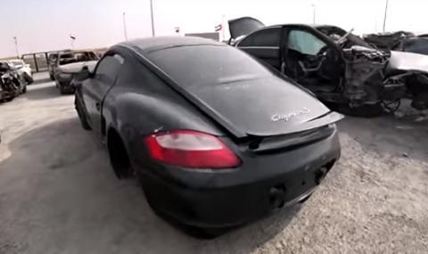 Колко струват ударени премиум коли в ОАЕ