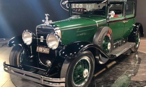 Продава се първата бронирана кола в света, която е била притежание на Ал Капоне
