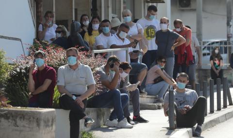 Ръст на заразените в Сърбия
