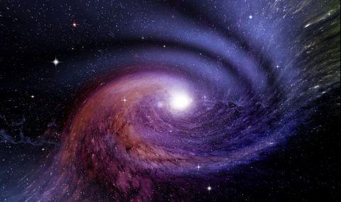 """Телескопът Хъбъл засне """"война"""" между галактики (СНИМКА) - 1"""