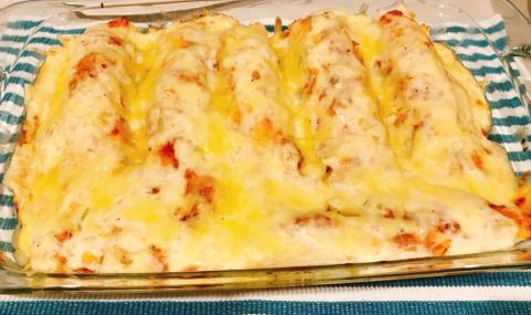 Рецепта на деня: Солени палачинки с пилешко