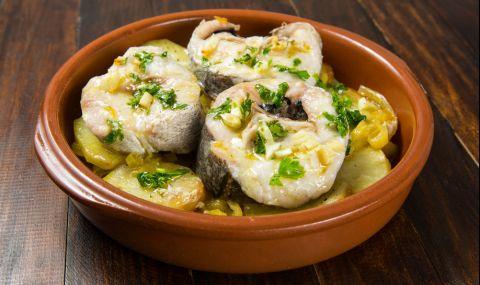 Рецепта за вечеря: Вкусна запеканка с бяла риба