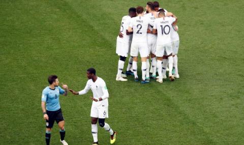 Франция е първият полуфиналист в Русия