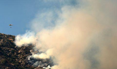 Огромен пожар в Андалусия - 1