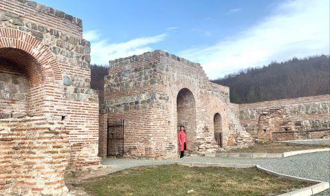 Херо Мустафа посети крепостта