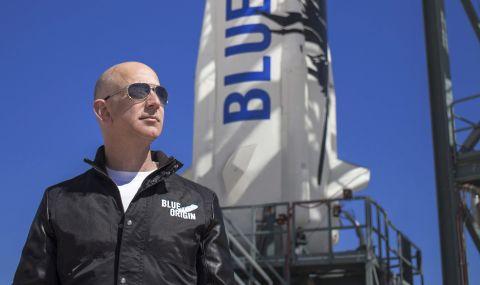 Безос търси признание за астронавт - 1