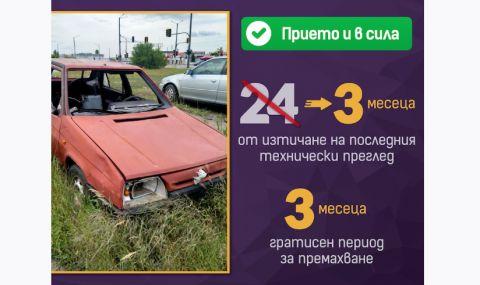 Вече ще премахват изоставените автомобили 4 пъти по-бързо
