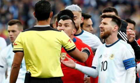 Южна Америка скочи срещу Меси