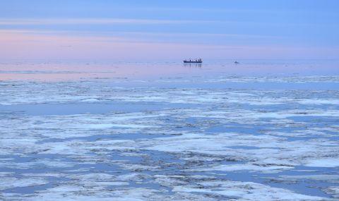 Заснемат 300 000 километра от дъното на Северния морски път