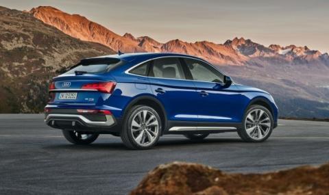 Audi Q5 е вече и купе