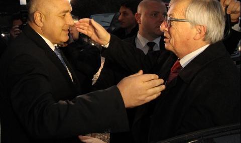 Юнкер измами Борисов в добрия смисъл