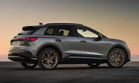 Audi представи електрическото Q4 с различен дизайн и нова платформа - 2