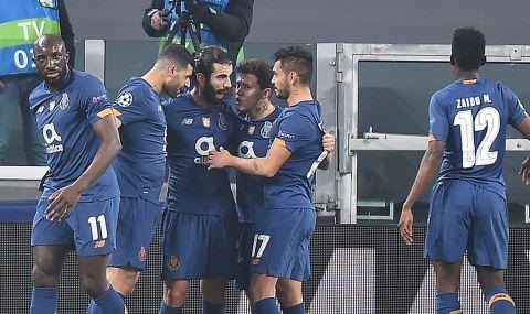 Изненадата е факт! Порто шокира Ювентус и изхвърли италианците от Шампионска лига