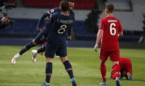 Байерн Мюнхен сдаде титлата в Шампионска лига! ПСЖ е на полуфинал