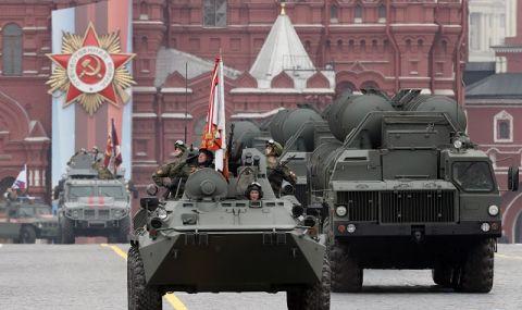 Генерална репетиция за парада на Червения площад