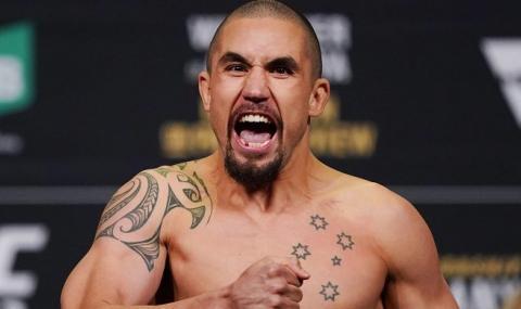 Оттеглилият се от UFC 248 Робърт Уитакър ще дари костен мозък на дъщеря си