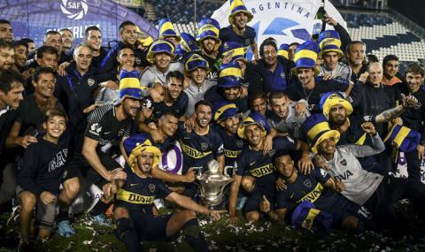 Сложиха край на първенството в Аржентина, шампион е Бока Хуниорс