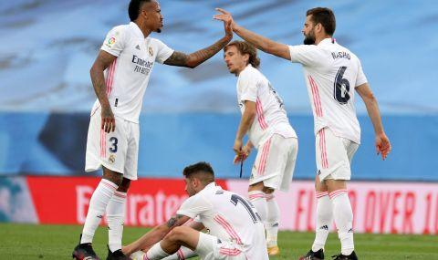 Всички футболистите на Реал Мадрид вече са ваксинирани с първа доза