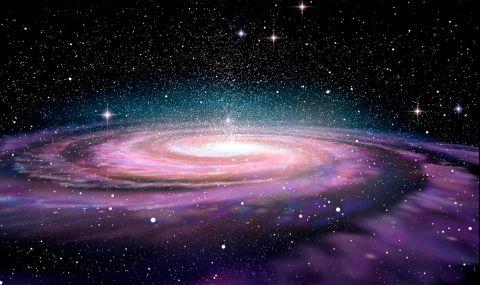 Астрономи наблюдаваха за пръв път умираща галактика (СНИМКА)