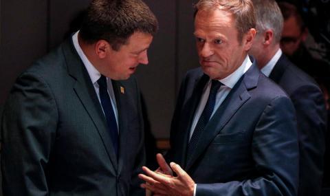 Туск прекъсна срещата на европейските лидери