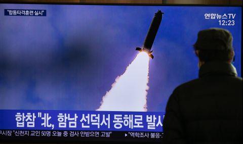 САЩ не знаят дали Северна Корея ще изстреля ракета