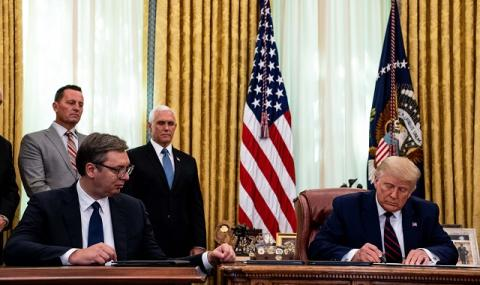 Тръмп обяви: Сърбия и Косово постигнаха огромен пробив!