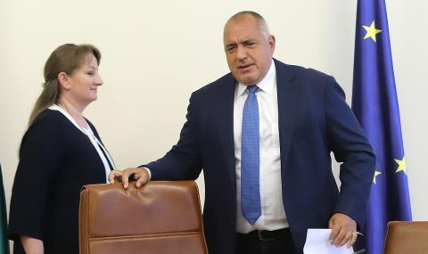 Слух: Борисов се оттегля, Сачева довършва мандата