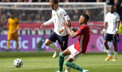 UEFA EURO 2020: Гризман: Нищо не ни се получи, не се чувахме заради пълния стадион