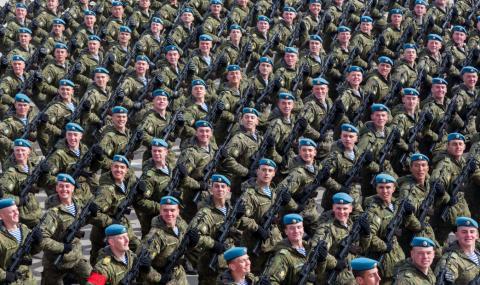 Руската армия показва своята мощ на света