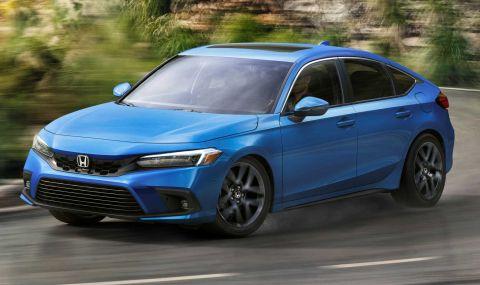 Новата Honda Civic Hatchback дебютира с познат дизайн - 5