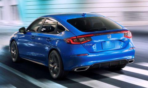 Новата Honda Civic Hatchback дебютира с познат дизайн - 1