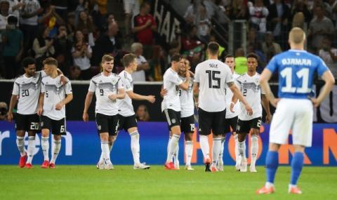 Германия сгази Естония