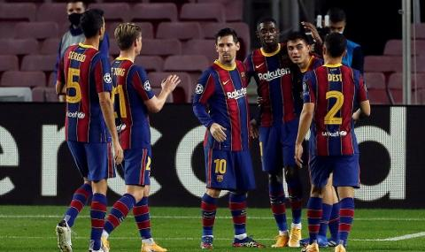 Барселона си го изкара на Ференцварош в ШЛ