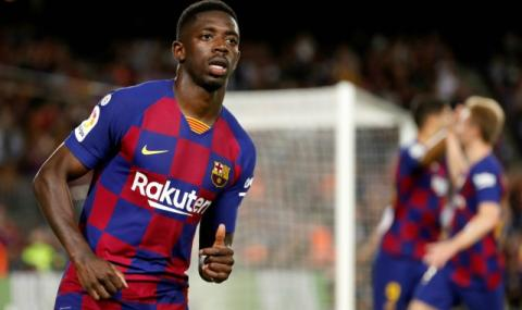 Контузията на Дембеле спести 5 милиона евро на Барселона