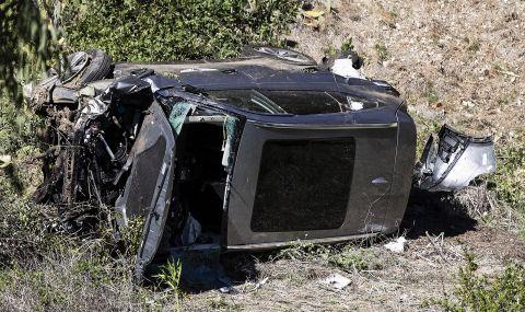 Полицията крие подробности за катастрофата с Тайгър Уудс