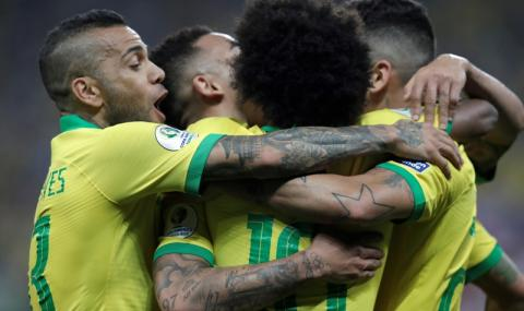 Бразилия отнесе Перу на Копа Америка и продължава напред