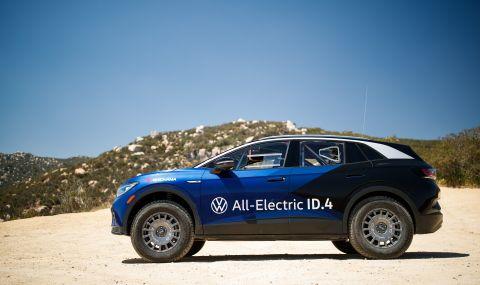 Volkswagen показа електрически ID.4 за офроуд - 2