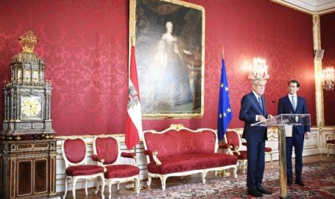 Вот на недоверие за правителството в Австрия