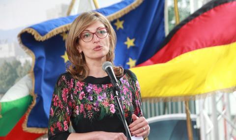 Захариева: Германия разчита на България