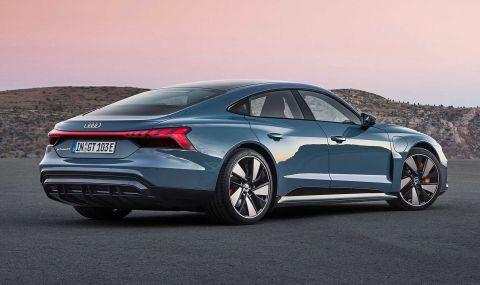 Audi представи електрическия E-Tron GT заедно с най-мощната RS версия - 3