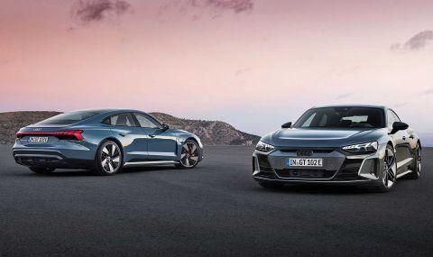 Audi представи електрическия E-Tron GT заедно с най-мощната RS версия - 1