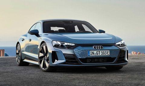 Audi представи електрическия E-Tron GT заедно с най-мощната RS версия - 2