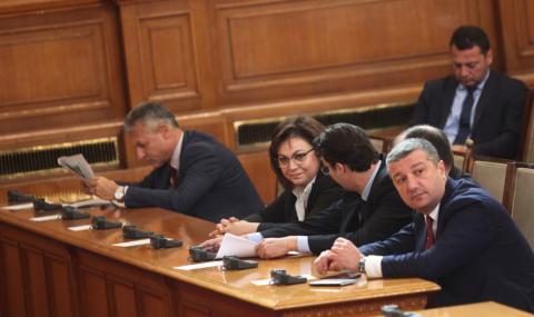 "БСП преговаря с ""Воля"" и независимите за вота на недоверие"