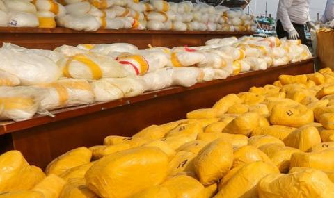 300 килограма кокаин скрити на странно място