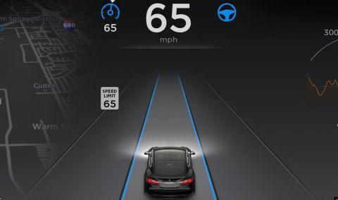 Автономните функции на Tesla вече струват по 199 долара на месец