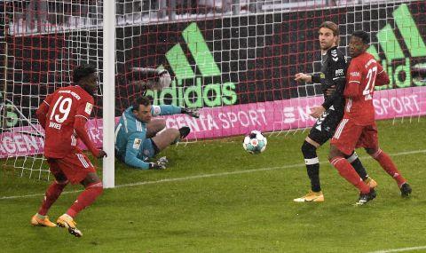 Байерн Мюнхен спечели трудно срещу Фрайбург