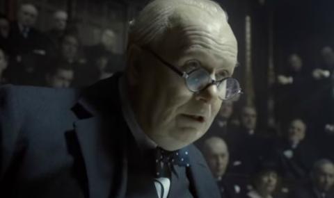"""""""Най-тъмният час"""" на Чърчил (ВИДЕО)"""