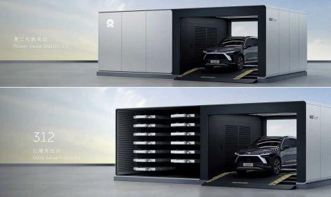 NIO ще инсталира над 4000 станции за смяна на батерии до 2025 година