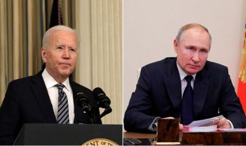 Байдън и Путин - спешно по телефона!